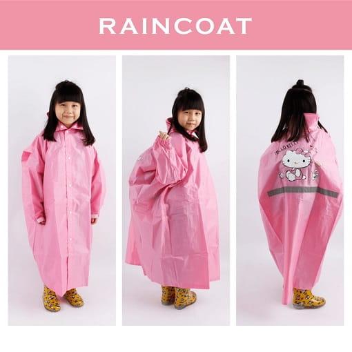 雨洋工坊正版凱蒂貓童雨衣